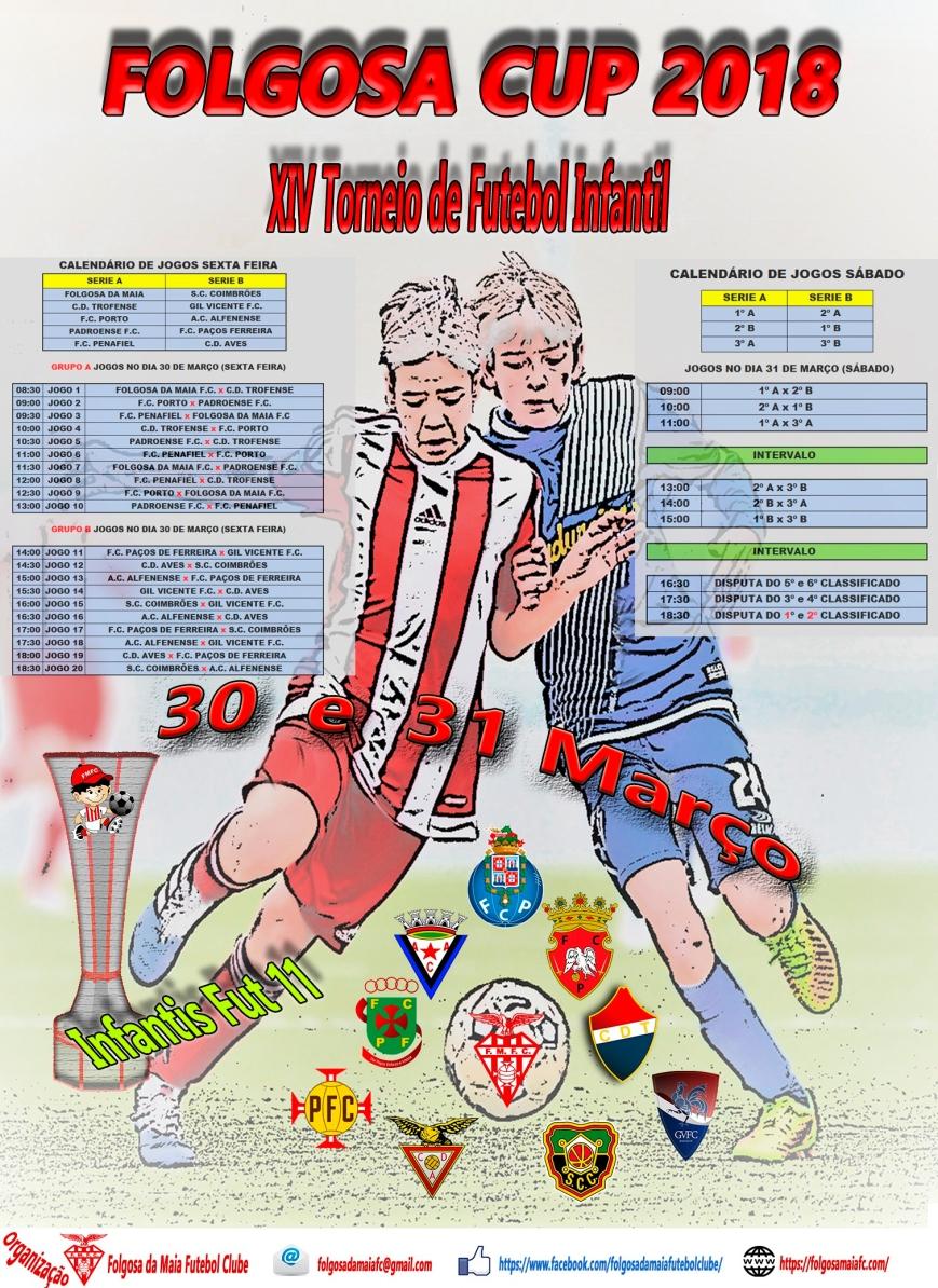 FOLGOSA CUP 2018 calendário
